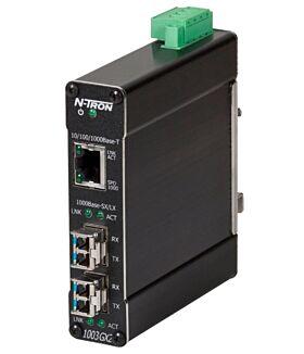 1003GX2 3 Port industrial Gigabit Ethernet switch 1003GX2-SX Switches 553