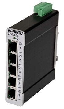 5 Port Unmanaged SLIMLINE Industrial Ethernet Switch 105TX-SL Cellular Routers 145