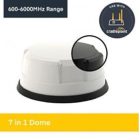5-in-1 LTE 5G/4G/3G/2G + GPS/GNSS Antenna LG-IN2444 Combo Antennas 420.22