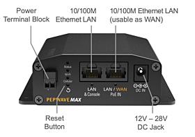 MAX BR1 Mini Router MAX-BR1-MINI-LTE-E-T Cellular Routers/Gateways 299