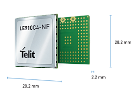 LE910C4-NF Module, AT&T, Verzon, T-Mobile LE910C4NF08T087600 Cellular Modules 89.31
