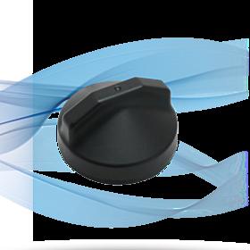 M2M Wi-Fi Puck Antenna, Black, 3 ft AP-M2M4-WW-Q-S22-RP-BL-3 Cellular Antennas 90