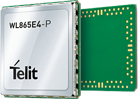 WL865E4-P Wi-Fi Module with 2 External Antennas WL865E4P000T001000 Cellular Modules 18.48