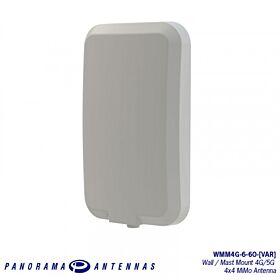4x4 MiMo 4G/5G Directional Antenna w/ FAKRA Jacks WMM4G-6-60-5FKJ Single Purpose Antennas 480