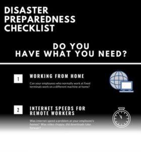 Remote working checklist from Novotech
