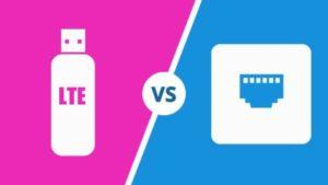 LTE/Cellular vs Landline connections
