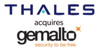 Logo of thales and gemalto