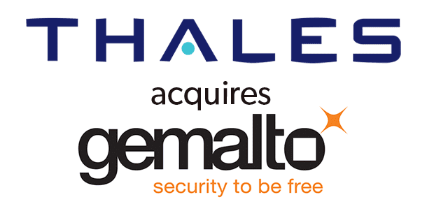 Logo of thales and gemalto
