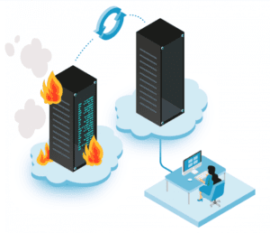 Diagram of disaster recovery
